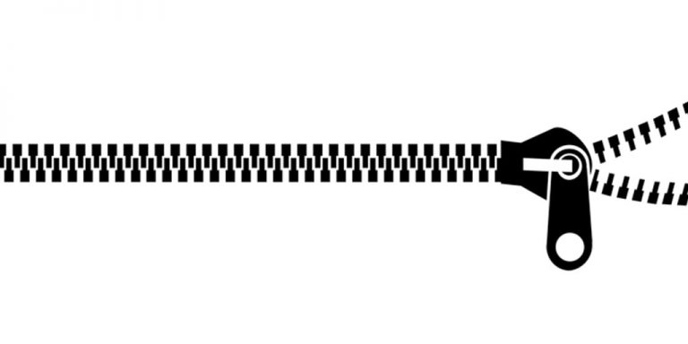 zipper graphic