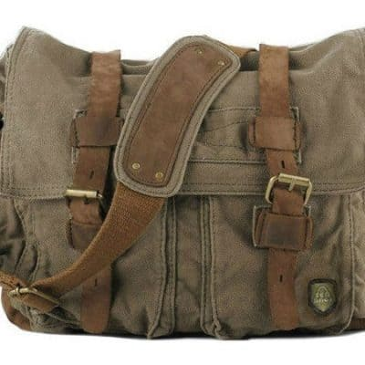 Flashback Fashion Friday —The Rise of the Canvas Messenger Bag