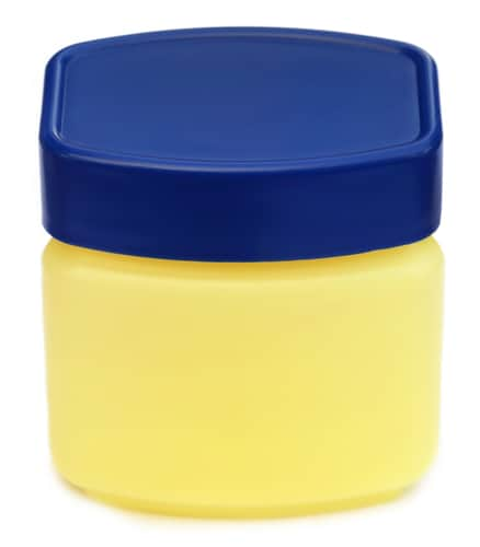 jar of generic petroleum jelly