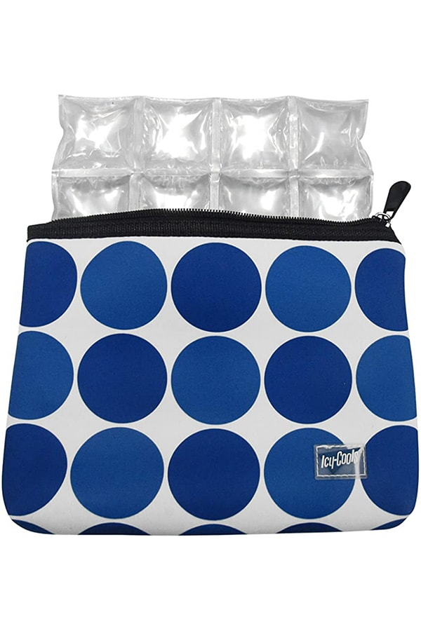 Icy Cool insulated makeup bag that's TSA approved