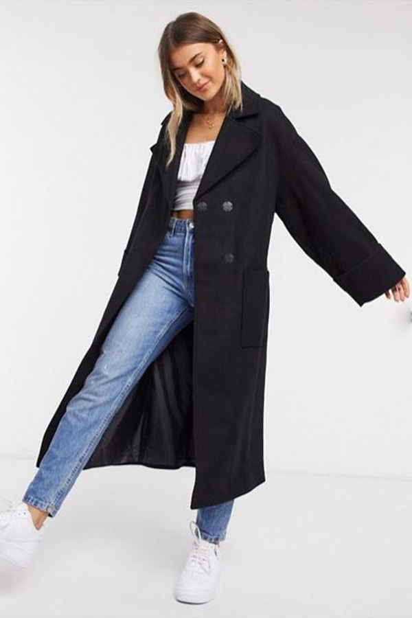 Slouchy trench coat from ASOS DESIGN