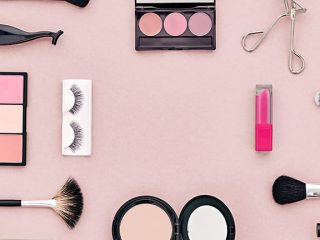Colllage of expired makeup products