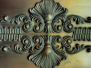 Antique door to represent architectural salvage.