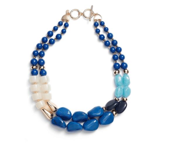 Chunky stone necklace