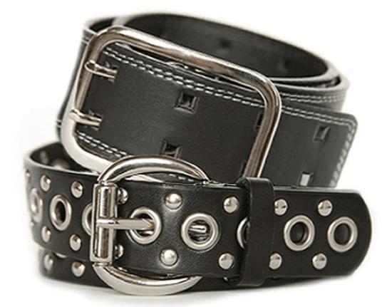 Black nickel-free belts