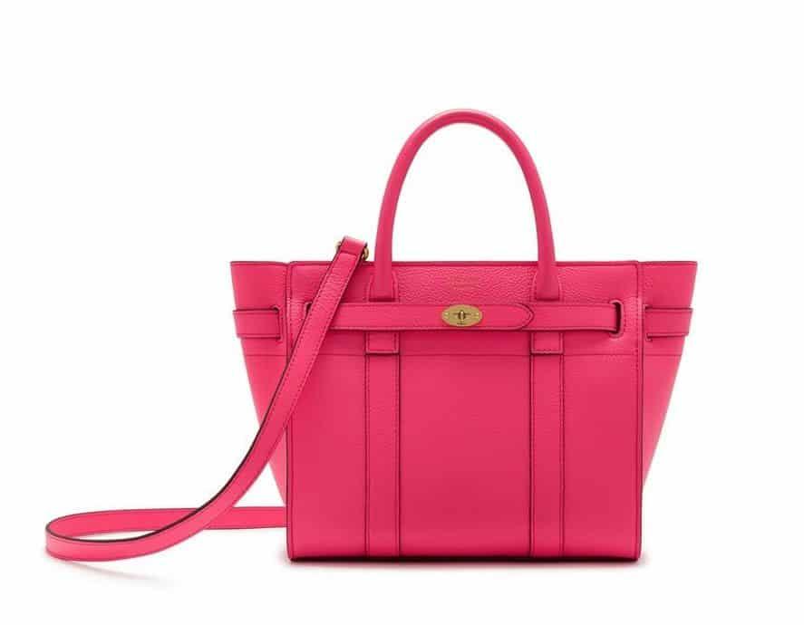 Mini Zipped Mulberry Bag