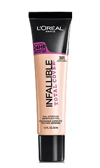 Best drugstore foundation - Loreal Infallible foundation
