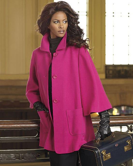 Cashmere Swing Coat