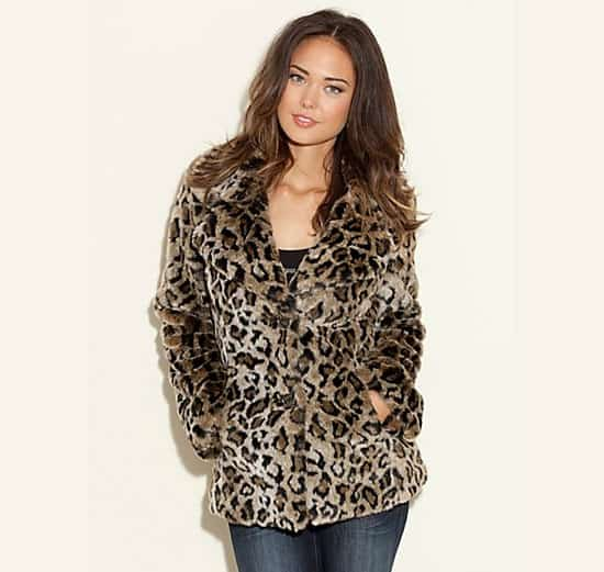 Guess Faux Fur Coat
