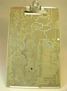 Circuit Board Clipboard: Recycle This