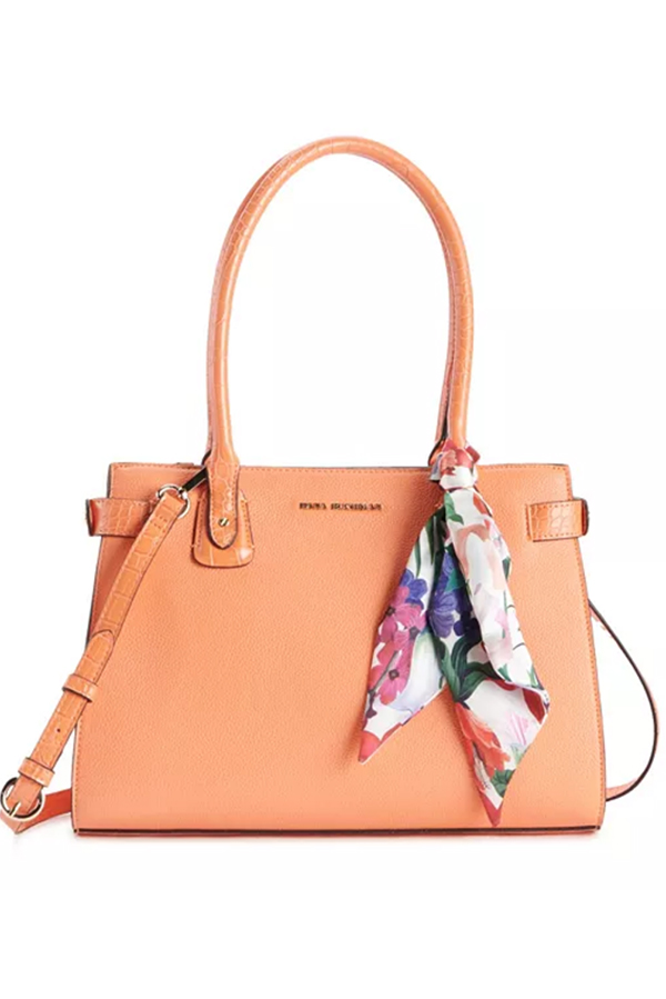 Coral handbag with Dana Buchman from Kohl's.
