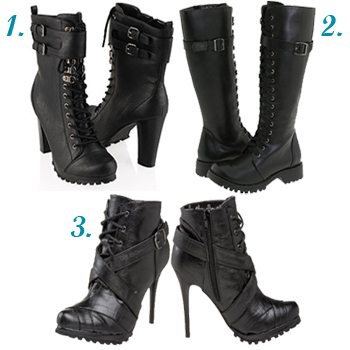 Trend Alert: Combat Boots