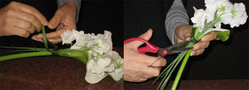 DIY - Calla Lily Centerpiece