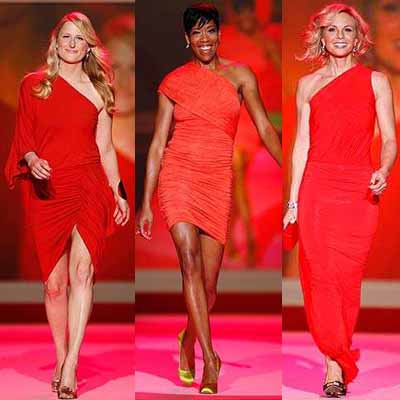 The Heart Truth Red Dress Fashion Show: Fashion Trends