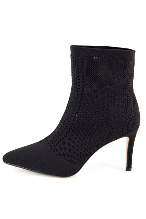Nicole Miller black women's boots from Payless Shoes.
