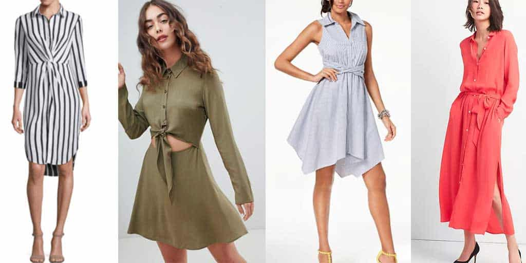 How to wear shirt dress