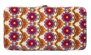 Xhilaration® Flower Clutch Wallet