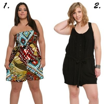 Plus-Size Rompers