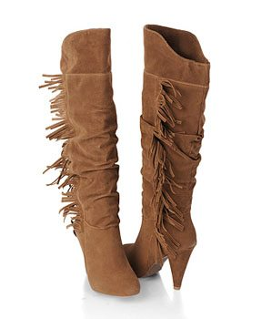 How to Wear: Fringed Boots