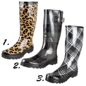 Six Slick Rain Boots at Endless.com