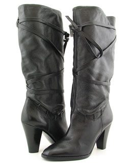eBay Obsession: Michael Kors Chalet Black Boots, Size 8