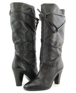 eBay Obsession: Michael Kors Chalet Black Boots, Size 8