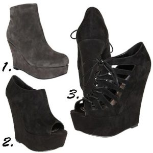 The Wedge In Suede: Five We Like