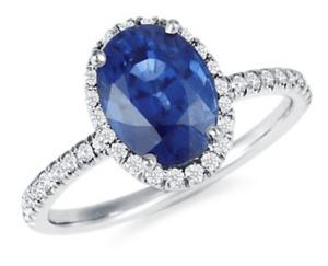 Kate Middleton Sapphire Diamond