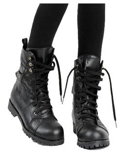 eBay Obsession: Motorcycle Boots, available in sizes 5-8