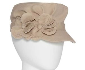 military-cap-with-flower