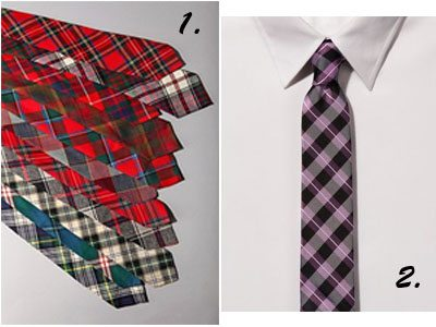 Plaid Ties