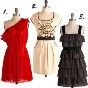 Modcloth Ruffle Dresses: Our Holiday Wish List
