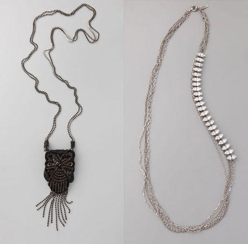 Ambre Babzoe Kanoa Minibag Necklace