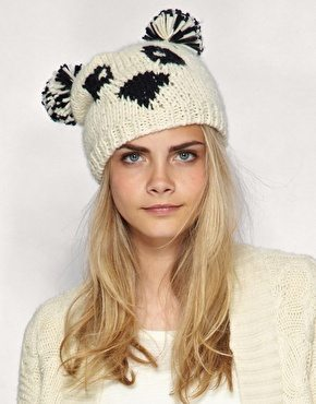Trend Alert: Animal Face Knit Hats