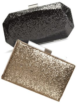High Vs. Low: Holiday Glitter Clutch