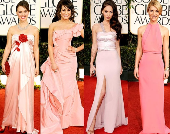 Pink dressed at the 2011 Golden Globes