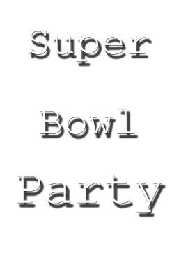 Super Bowl Party Ideas: DIY Decorating