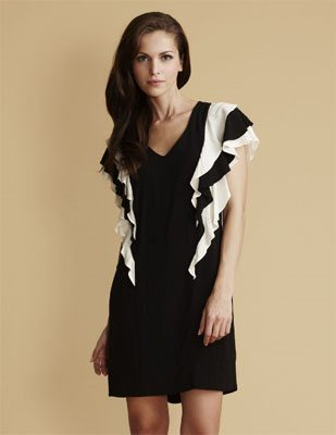 French Connection Ruffled Dress