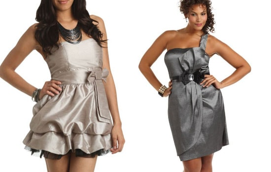 Turmec Macys Black One Shoulder Dress