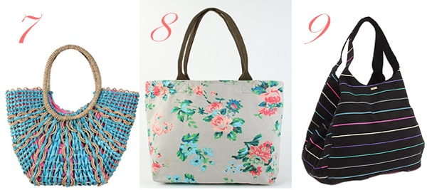Great Beach Totes for Under $25