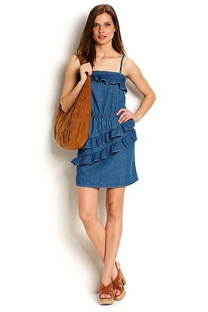 Denim dress, $79.50
