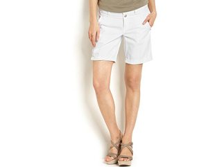 Denim shorts, 8 inch, $69.50