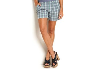 Plaid shorts, 6 inch, $49.50