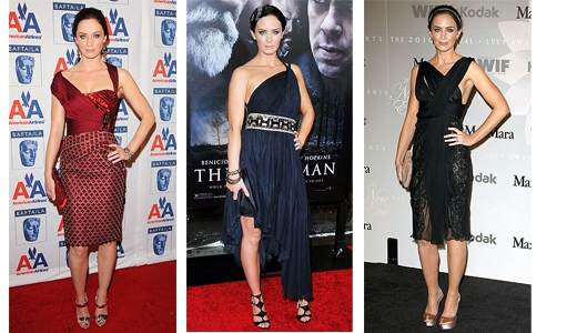 Emily Blunt and Grecian Style