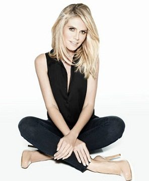 Heidi Klum Launches Shoe Collection