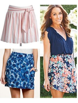 Six Really Cute Skirts for Summer