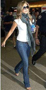 Jennifer Aniston scarf
