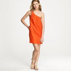 Orange Toga Dress