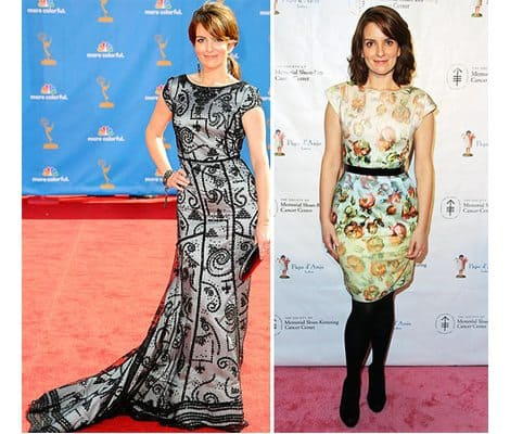Tina Fey's Symmetry