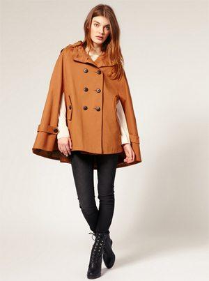 Brown Coat Cape